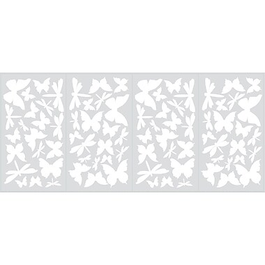 RoomMates® Butterflies and Dragonflies Glow in the Dark Wall Decal, 10