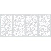 "RoomMates® Butterflies and Dragonflies Glow in the Dark Wall Decal, 10"" x 18"""