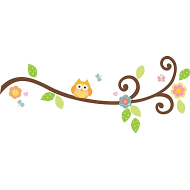 RoomMates® Happi Scroll Tree Branch Peel and Stick Wall Decal, 10