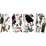 """RoomMates® Star Wars™ Prequel Peel and Stick Wall Decal, 10"""" x 18"""""""