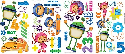 RoomMates® Team Umizoomi Peel and Stick Wall Decal, 10