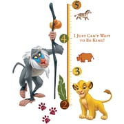 """RoomMates® The Lion King Peel and Stick Growth Chart, 27"""" x 40"""""""