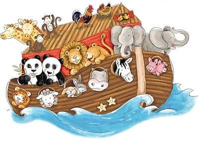 RoomMates® Noah's Ark Peel and Stick Giant Wall Decal, 27
