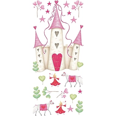 RoomMates® Princess Castle Peel and Stick Giant Wall Decal, 18