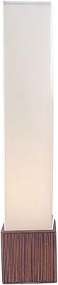 Adesso® 3004-14 Sebu Floor Lantern, 2 x 100 W, Teak