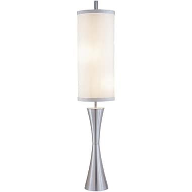 Adesso® 4505-22 Geneva Floor Lamp, 3 x 100 W, Steel