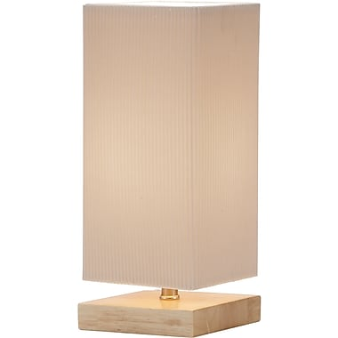 Adesso® 3326-12 Angelina Table Lantern, 1 x 60 W, Natural