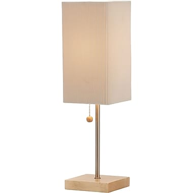 Adesso® 3327-12 Angelina Table Lamp, 1 x 60 W, Natural
