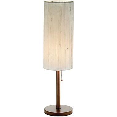 Adesso® 3337-15 Hamptons Table Lamp, 1 x 60 W, Walnut