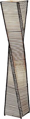 Adesso® 4046-01 Stix Floor Lantern, 2 x 60 W, Black