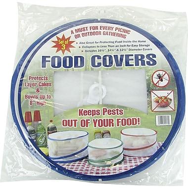 Trademark Global Set of 3 Pop Up Outdoor Food Cover, 17