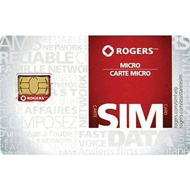 Rogers - Carte Micro-SIM LTE
