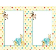Great Papers® Baby Zoo Animals 2-up Invitations with Envelopes, 16/Pack