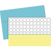 Great Papers® Fresh Slate Trellis Note Cards, 20/Pack