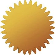Great Papers! Gold Foil Value Certificate Seals, 100/Pack (949351)