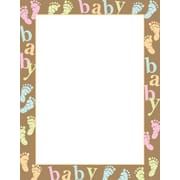 Great Papers® Baby Dots and Feet Letterhead, 100/Pack