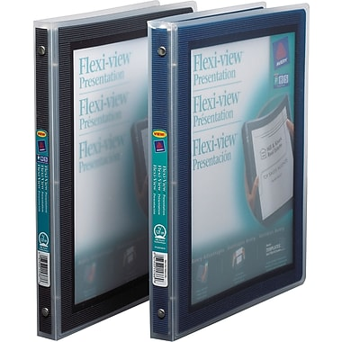 Avery® Flexi-View Presentation Binder, ½