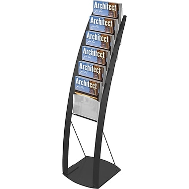 Deflecto® Magazine Size Contemporary Floor Display