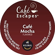 Café Escapes® Café Mocha Coffee, Keurig® K-Cup® Pods, 96/Carton (68013)