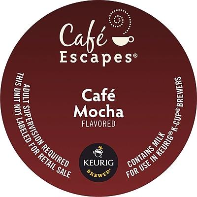Cafe Escapes® Cafe Mocha K-Cup® Pods, 96/CT