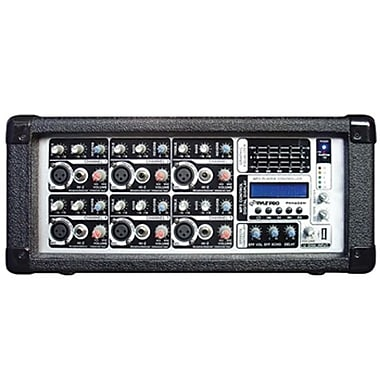 Pyle® PMX602M 6 Channel Powered Mixer With MP3
