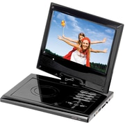 Supersonic® SC-178DVD Portable DVD Player With Digital TV Tuner USB, SD Card Slot and Swivel Display
