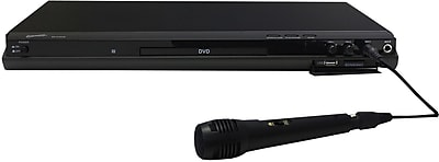 Supersonic® SC-31 5.1 Channel DVD Player With HDMI Upconversion, USB, SD Card Slot and Karaoke