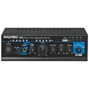 Pyle® PTAU45 Mini Stereo Power Amplifier With USB, AUX, CD and Mic Inputs, 240 W