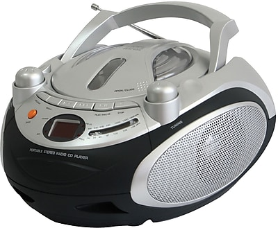 Naxa® NPB-245 Portable CD Player With AM/FM Stereo Radio