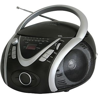 Naxa® NPB-246 Portable MP3/CD Player With AM/FM Stereo Radio and USB Input