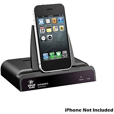 Pyle® PiPadK2 Universal iPod/iPad/iPhone Docking Station For Audio and Video Output Charging