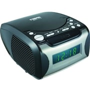 Naxa® NRC-175 Digital Alarm Clock With CD Player and AM/FM Radio