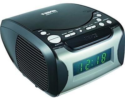 Naxa® NRC-175 Digital Alarm Clock With CD Player and AM/FM Radio