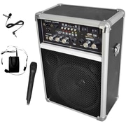 Pyle® PWMA170 Dual Channel Wireless PA System With USB/SD/MP3, 400 W