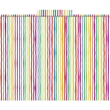 Stripes Decorative File Folders, Letter, 3 Tab