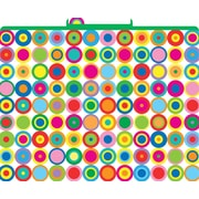 Barker Creek Disco Dots Decorative File Folders, Letter, 3 Tab, 12/pack