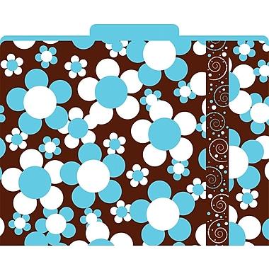 Barker Creek Hot to Dot Decorative File Folders, Letter, 3 Tab, 12/pack (LL1327)