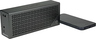 JLab Crasher Portable Hi-Fi Bluetooth Speaker with Phone Charging Port, Midnight Black
