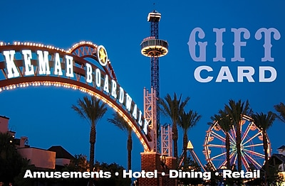 Kemah Boardwalk Gift Card $100 (Email Delivery)