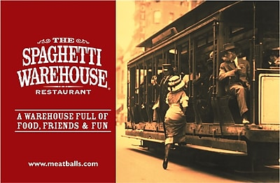 The Spaghetti Warehouse Gift Card $100 (Email Delivery)