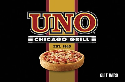 Uno's Chicago Grill Gift Card $100 (Email Delivery)