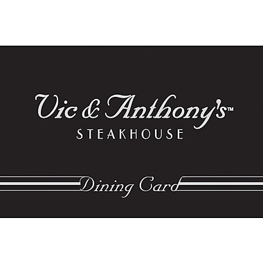 Vic & Anthony's Steak House Gift Card $100 (Email Delivery)