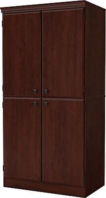 South Shore® Morgan Storage Cabinet, Royal Cherry