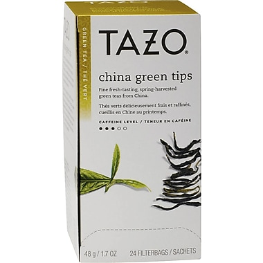 Starbucks® Tazo China Green Tips Green Tea, Regular, 24 Tea Bags/Box