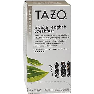 Starbucks® Tazo Awake Black Tea, 24 Tea Bags/Box