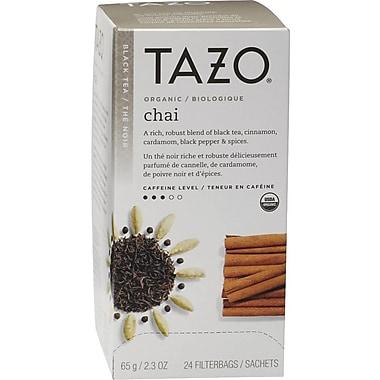 Starbucks® Tazo® Organic Chai Spice Tea, Regular, 24/Packets