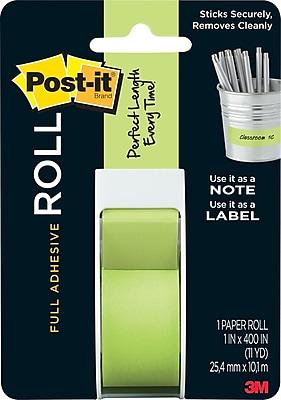 Post-it® Full Adhesive Roll, 1
