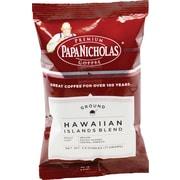 Papa Nicholas® Hawaiian Islands Blend Ground Coffee, Regular, 2.5 oz., 18 Packets