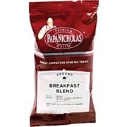Papa Nicholas® Breakfast Blend Ground Coffee, Regular, 2.5 oz., 18 Packets