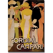 "Trademark Global ""Cordial Campari"" Canvas Art, 35"" x 47"""